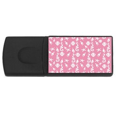 Seahorse pattern USB Flash Drive Rectangular (2 GB)