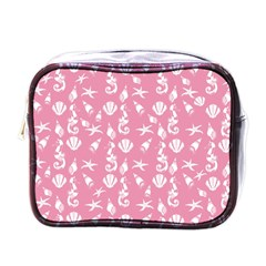 Seahorse pattern Mini Toiletries Bags