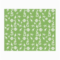 Seahorse pattern Small Glasses Cloth (2-Side)