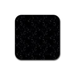 Seahorse pattern Rubber Coaster (Square)