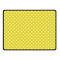 Polka dots Fleece Blanket (Small)