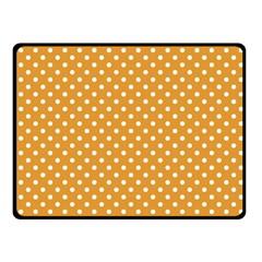 Polka dots Fleece Blanket (Small)