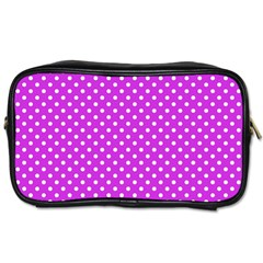 Polka dots Toiletries Bags 2-Side