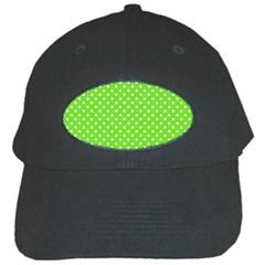 Polka dots Black Cap