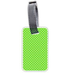 Polka Dots Luggage Tags (two Sides)