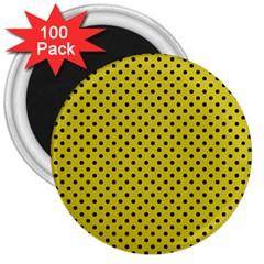 Polka dots 3  Magnets (100 pack)
