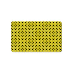 Polka dots Magnet (Name Card)