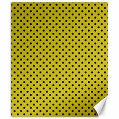 Polka dots Canvas 8  x 10