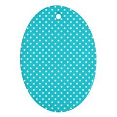 Polka dots Ornament (Oval)