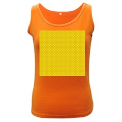 Polka dots Women s Dark Tank Top