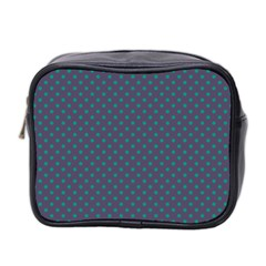 Polka dots Mini Toiletries Bag 2-Side