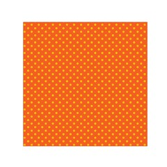 Polka dots Small Satin Scarf (Square)