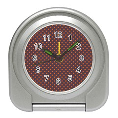 Polka dots Travel Alarm Clocks