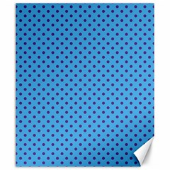 Polka dots Canvas 20  x 24