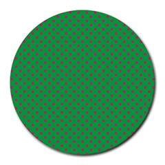 Polka dots Round Mousepads
