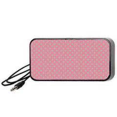 Polka Dots Portable Speaker (black)
