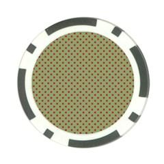 Polka dots Poker Chip Card Guard