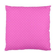 Polka dots Standard Cushion Case (Two Sides)
