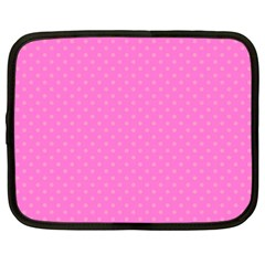 Polka dots Netbook Case (XXL)