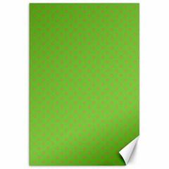 Polka dots Canvas 20  x 30