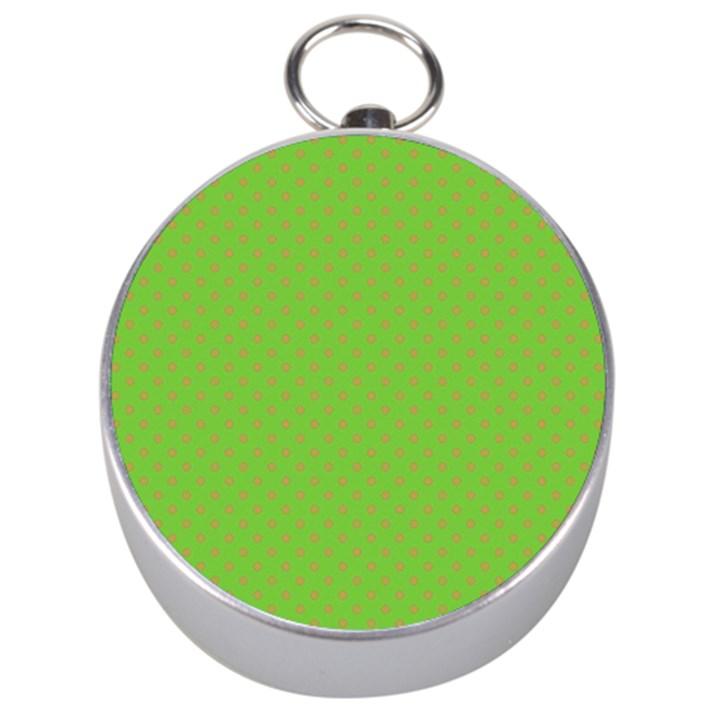 Polka dots Silver Compasses