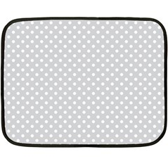 Polka dots Double Sided Fleece Blanket (Mini)