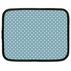 Polka dots Netbook Case (XL)