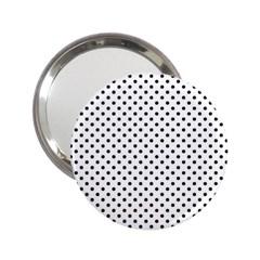 Polka dots 2.25  Handbag Mirrors