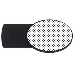 Polka dots USB Flash Drive Oval (2 GB)