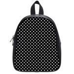 Polka dots School Bags (Small)  Front