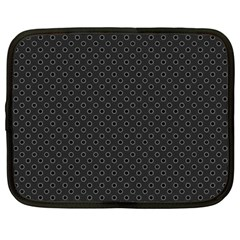 Polka dots Netbook Case (Large)