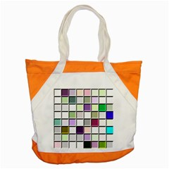 Color Tiles Abstract Mosaic Background Accent Tote Bag