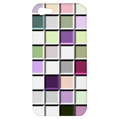 Color Tiles Abstract Mosaic Background Apple iPhone 5 Hardshell Case