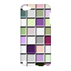 Color Tiles Abstract Mosaic Background Apple iPod Touch 5 Hardshell Case