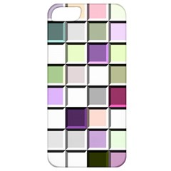 Color Tiles Abstract Mosaic Background Apple iPhone 5 Classic Hardshell Case