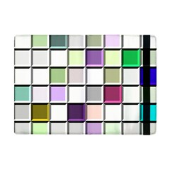 Color Tiles Abstract Mosaic Background Apple Ipad Mini Flip Case