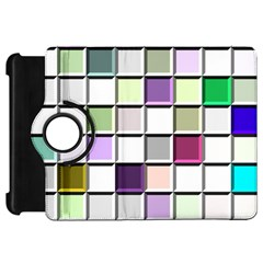 Color Tiles Abstract Mosaic Background Kindle Fire Hd 7