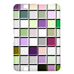 Color Tiles Abstract Mosaic Background Kindle Fire Hd 8 9
