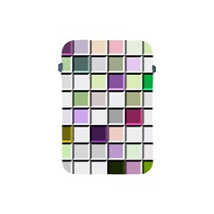 Color Tiles Abstract Mosaic Background Apple Ipad Mini Protective Soft Cases