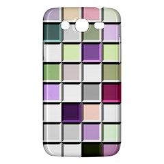 Color Tiles Abstract Mosaic Background Samsung Galaxy Mega 5.8 I9152 Hardshell Case