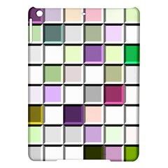 Color Tiles Abstract Mosaic Background Ipad Air Hardshell Cases