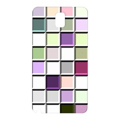 Color Tiles Abstract Mosaic Background Samsung Galaxy Note 3 N9005 Hardshell Back Case