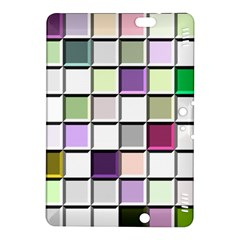 Color Tiles Abstract Mosaic Background Kindle Fire HDX 8.9  Hardshell Case