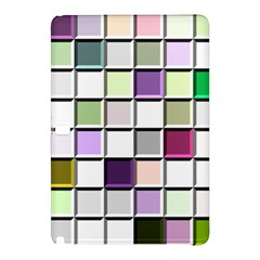 Color Tiles Abstract Mosaic Background Samsung Galaxy Tab Pro 12 2 Hardshell Case
