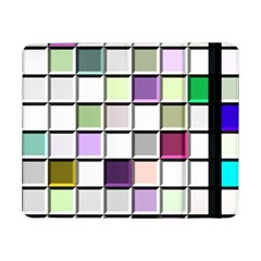 Color Tiles Abstract Mosaic Background Samsung Galaxy Tab Pro 8.4  Flip Case