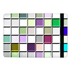 Color Tiles Abstract Mosaic Background Samsung Galaxy Tab Pro 10.1  Flip Case