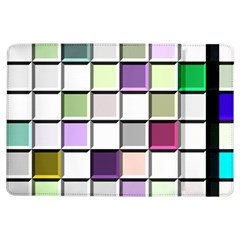 Color Tiles Abstract Mosaic Background Ipad Air Flip