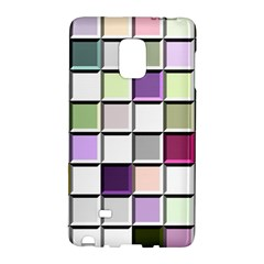 Color Tiles Abstract Mosaic Background Galaxy Note Edge