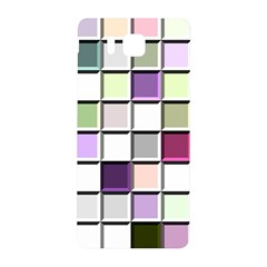 Color Tiles Abstract Mosaic Background Samsung Galaxy Alpha Hardshell Back Case