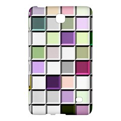 Color Tiles Abstract Mosaic Background Samsung Galaxy Tab 4 (7 ) Hardshell Case